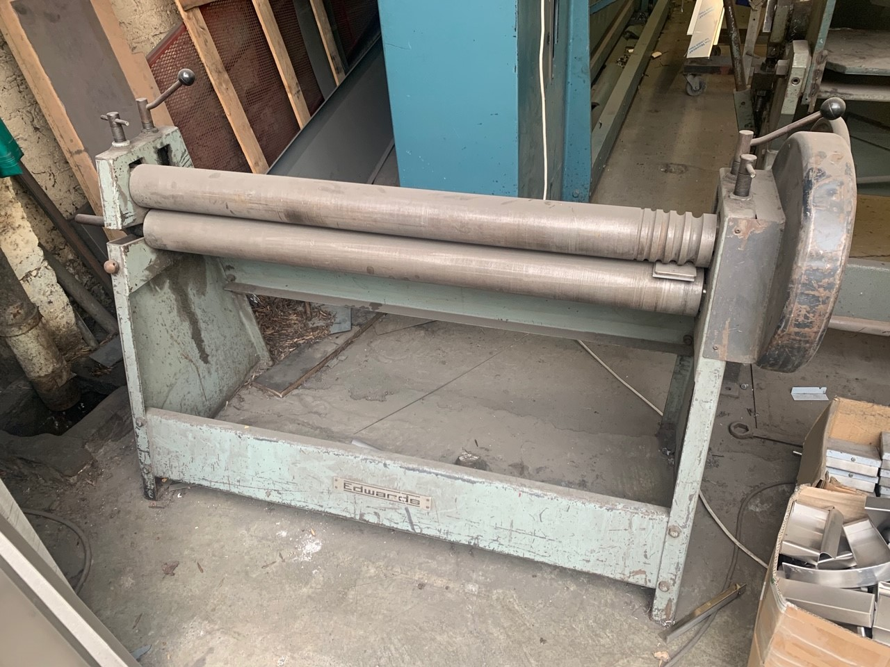 EDWARDS EGS Geared Hand rollers  1270mm x 100mm